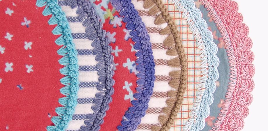 Hemstitched Baby Blanket Piercing Crochet Hook
